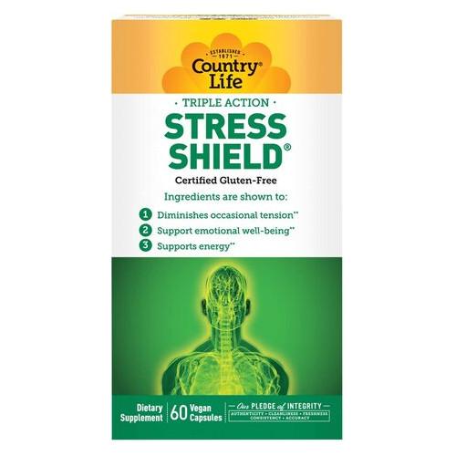 Специальный продукт Country Life Stress Shield 60 капсул (4384302780)