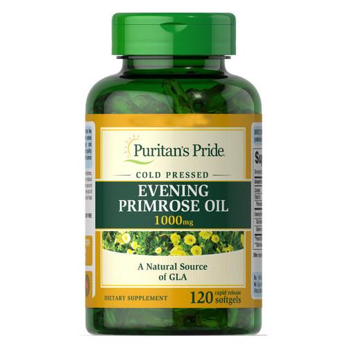 Специальный продукт Puritans Pride Evening Primrose Oil 1000 mg with GLA  120 капсул (4384301534)