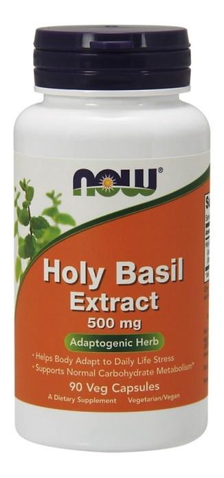 Специальный продукт NOW Holy Basil Extract 500 mg Veg Capsules 90 капсул (4384301202)