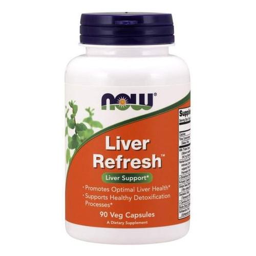 Специальный продукт NOW Liver Refresh Veg Capsules 90 капсул (4384301212)