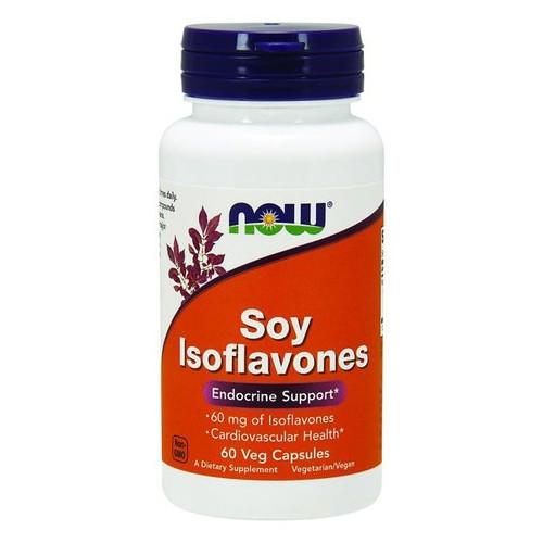 Специальный продукт NOW Soy Isoflavones 150 mg Veg Capsules 60 капсул (4384301234)