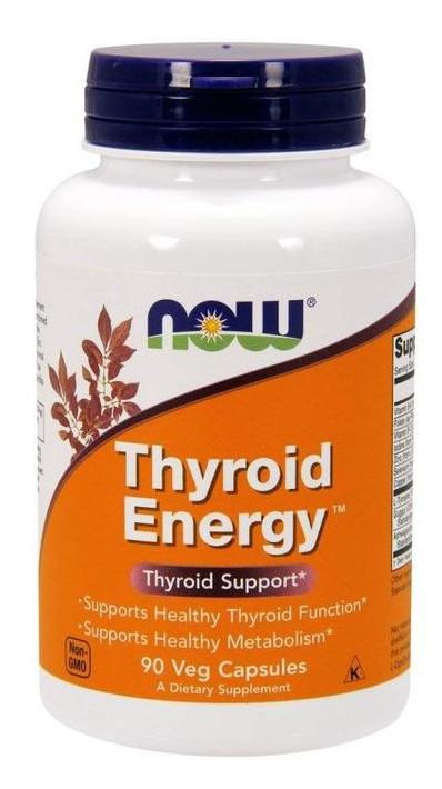 Специальный продукт NOW Thyroid Energy Veg Capsules 90 капсул (4384301237)