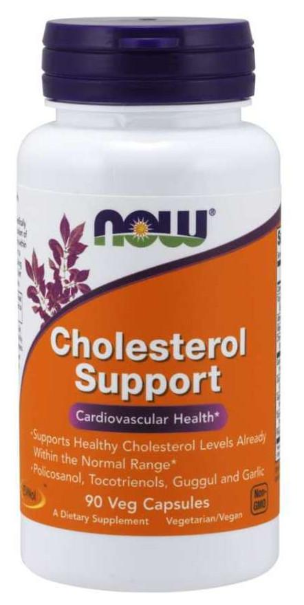 Специальный продукт NOW Cholesterol Support Veg Capsules 90 капсул (4384302676)