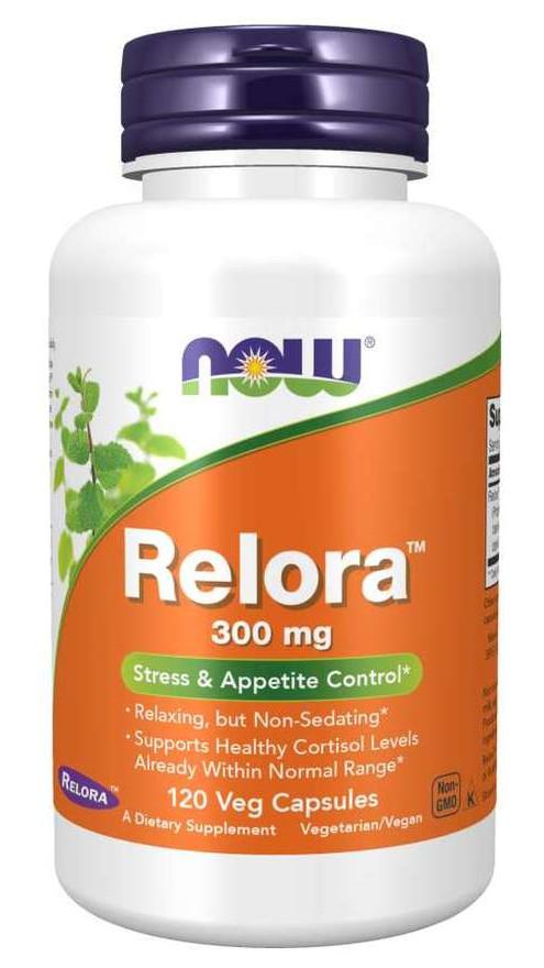 Специальный продукт NOW Relora 300 mg Veg Capsules 120 капсул (4384302675)