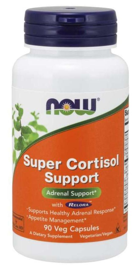 Специальный продукт NOW Super Cortisol Support with Relora Veg Capsules 90 капсул (4384302674)