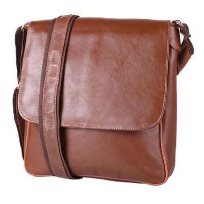 Мужская кожаная сумка-почтальонка Tunona SK2425-10