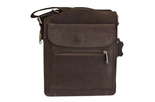 Мужская сумка кожаная Sergio Torri 1228