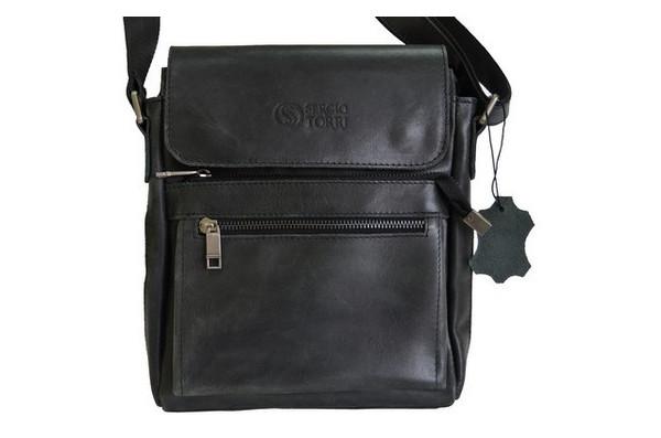 Мужская сумка кожаная Sergio Torri 44-611