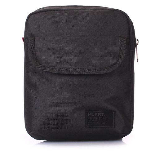 Мужская сумка на плечо Poolparty Черный (extreme-oxford-black)