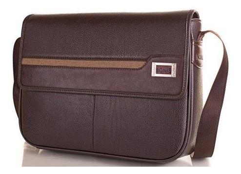 Мужская сумка-почтальонка Bonis SHIL8101-brown