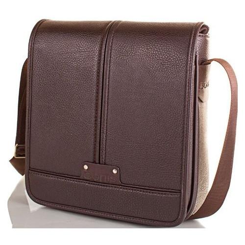Мужская сумка-почтальонка Bonis SHIM8098-brown