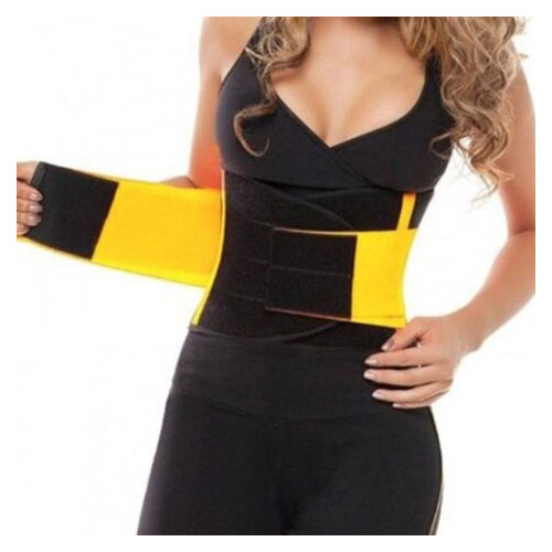 Пояс для похудения и тренировок Hot Shapers MS 2050 XL Черно-желтый (34394002)
