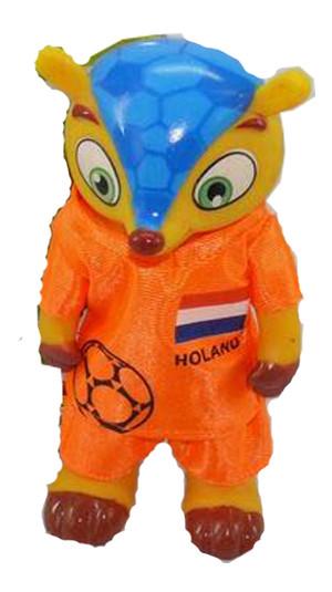 Броненосец талисман чемпионата мира по футболу 2014 (Голландия)