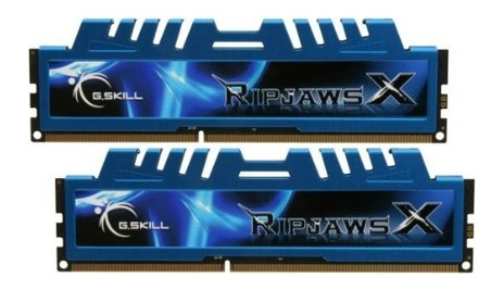 Модуль памяти DDR3L 8GB (2x4GB) 1600MHz G.Skill RipjawsX (F3-12800CL9D-8GBXM)