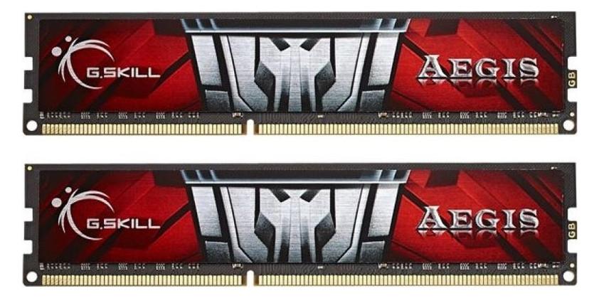 Модуль памяти DDR3L 8GB (2x4GB) 1600MHz G.Skill AEGIS (F3-1600C11D-8GISL)