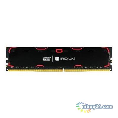 Модуль памяти Goodram DDR4 4GB/2400 Iridium Black (IR-2400D464L17S/4G)