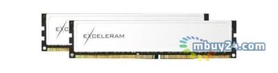 Модуль памяти для компьютера eXceleram DDR4 16GB (2x8GB) 2400 MHz Black/White (EBW416247AD)