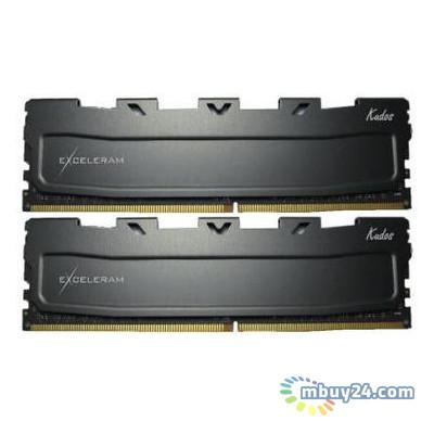 Модуль памяти для компьютера eXceleram DDR4 16GB 2x8GB 2400 MHz Black Kudos (EKBLACK4162414AD)