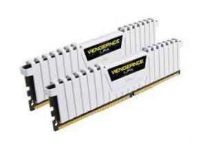 Модуль памяти Corsair Vengeance LPX W hite 16GB DDR4 3200Mhz 2x8GB (CMK16GX4M2B3200C16W)
