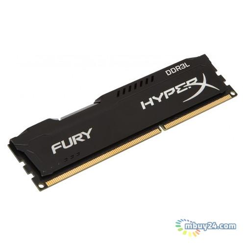Модуль памяти Kingston HyperX Fury DDR3L 8GB/1600 1.35V Black (HX316LC10FB/8)