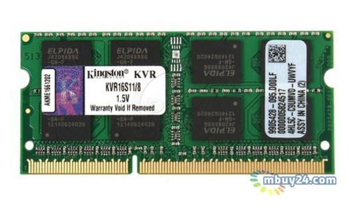 Память Kingston SO-DIMM DDR3 8Gb 1600MHz (KVR16S11/8)