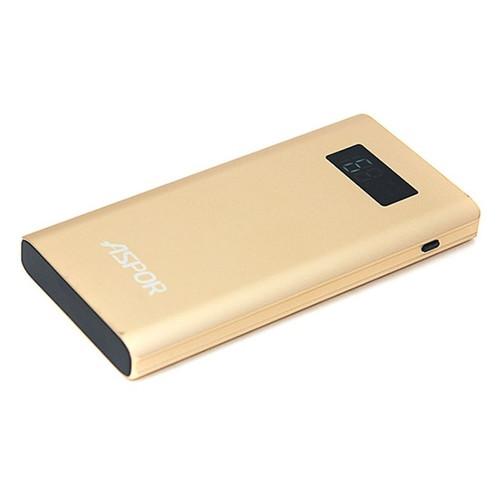 Внешний аккумулятор Aspor Q388 Qualcomm 3.0 10000mAh Gold