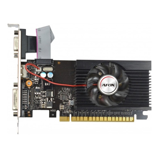 Видеокарта Afox SVGA GF GT610 2Gb DDR3 64bit HDMI/DVI/VGA LP Вентилятор (AF610-2048D3L5)