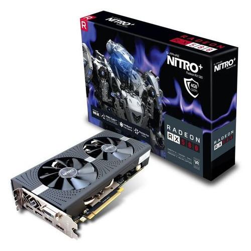 Видеокарта RX 580 4G NITRO+ (11265-31-20G)