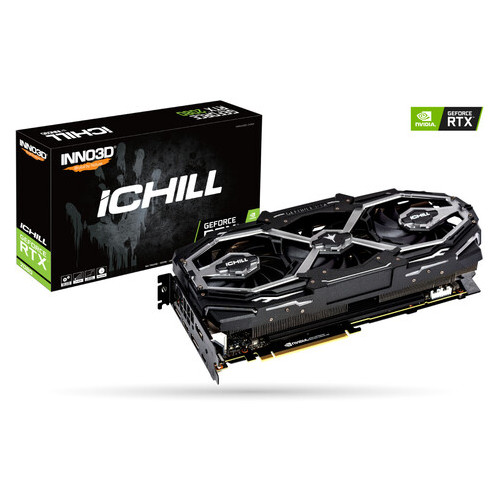 Видеокарта Inno3D GeForce RTX 2080 8 GB X3 Jekyll (C20803-08D6X-1780VA16)