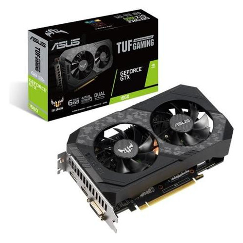 Видеокарта Asus GeForce GTX 1660 6GB GDDR5 TUF Gaming (TUF-GTX1660-6G-GAMING)