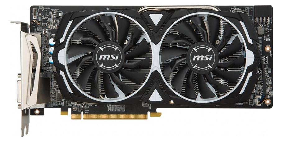 Видеокарта MSI Radeon RX 580 ARMOR OC 8GB (RX 580 ARMOR 8G OC)