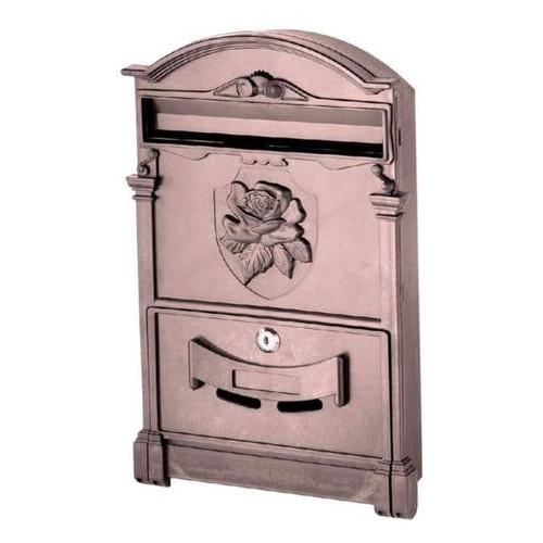 Почтовый ящик Vita роза коричневый PO0019