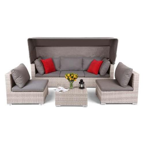 Садовая мебель Homegarden VIGO из технораттана бежевый