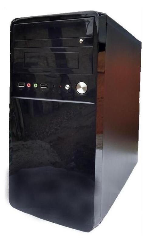 Корпус Delux MK 220 Black 450W 12Fan