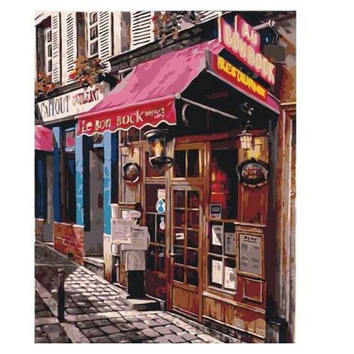 Картина по номерам Идейка Любимый магазинчик (КНО2195)