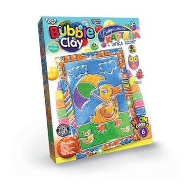 Витражная картина Danko Toys Bubble Clay  Уточка (BBC-02-03U)