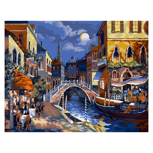 Картина по номерам Danko Toys Ночная Венеция 40х50 см (KpN-01-02U)