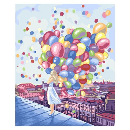 Картина по номерам Danko Toys Яркие краски города 40х50 см (KpN-01-03U)