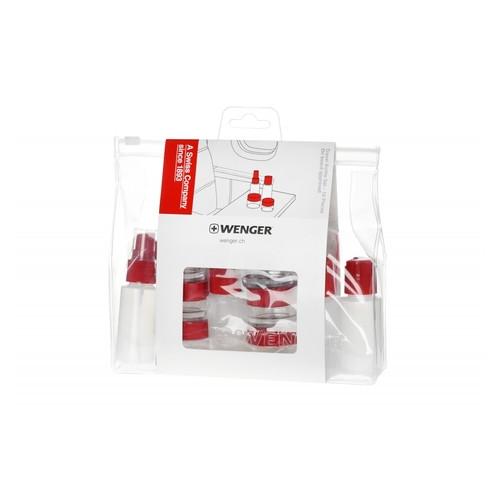 Набор ёмкостей для путешетвий, Wenger Bottle Set 10 psc (604548)