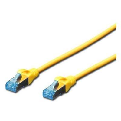 Патч-корд Digitus 3м cat.5e SF-UTP AWG 26/7 yellow (DK-1531-030/Y)