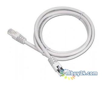 Патч корд Cablexpert PP12-10M UTP категория5E литой 50u штекер с защелкой 10 м серый (PP12-10M)