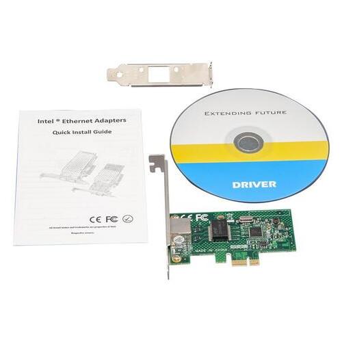 Сетевой адаптер Frime NCF-GbLanWGI210AT.LP (1xGE)