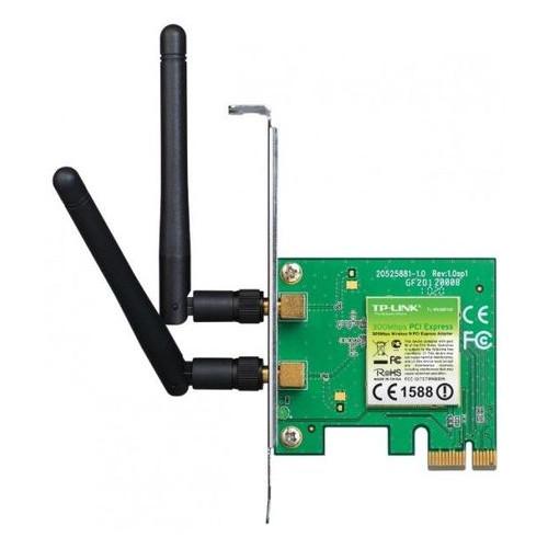 Сетевая карта PCI-E TP-LINK TL-WN881ND Wi-Fi 802.11g/n 300Mb, 2 съемные антенны