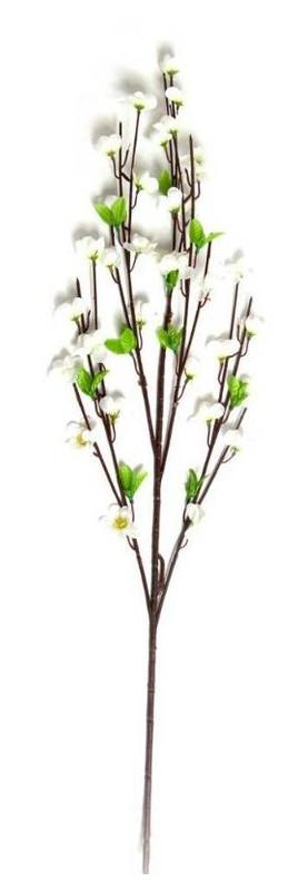 Ветка Даршан сакуры белая 90 см 5/уп (24568)