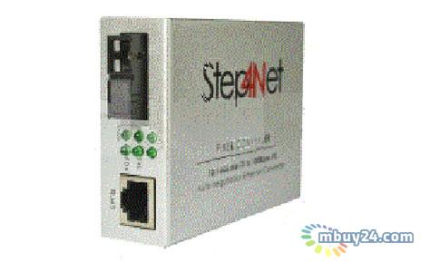 Медиаконвертер Step4Net SC SM TX 1310 RX 1550 100Мб