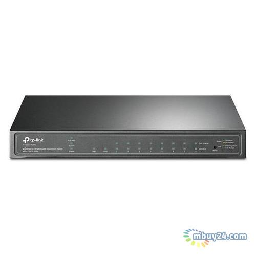 Коммутатор TP-Link T1500G-10PS JetStream™(8*GE PoE+, 2*SFP, max 53Вт, Web Smart)