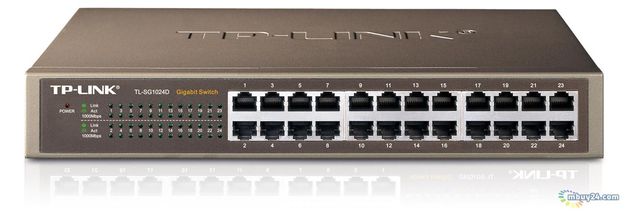 Коммутатор TP-Link TL-SG1024D 24-port Gigabit