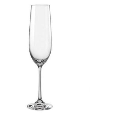 Набор бокалов для шампанского Bohemia Viola 190 мл 6 шт b40729
