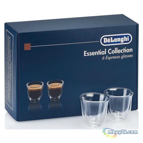 Набор стаканов Delonghi DLSC300 ESPRESSO 6 шт 60 мл