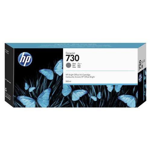 Картридж HP 730 300-ml Gray Ink Cartridge